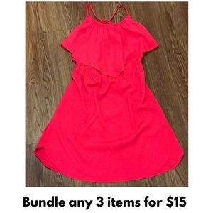 American Eagle Outfitters Coral Pink Dress